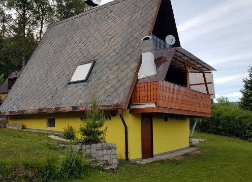 Ferienhaus am Moldaustausee