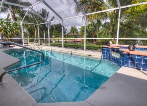 ***-10%-Aktion*** Luxus-Ferienhaus Villa Butterfly am Kanal - Florida