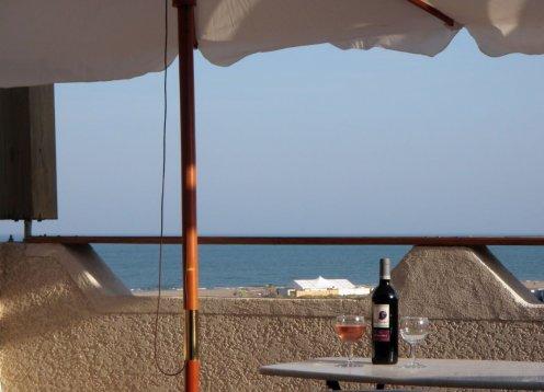 fantastischer Meerblick im Terrassenhaus , Urlaub mit Hund, WLAN